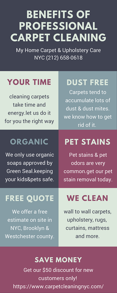 benefits of professional carpet cleaning NYC